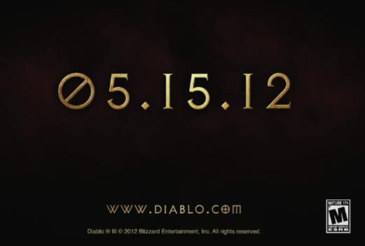 Diablo 3 date