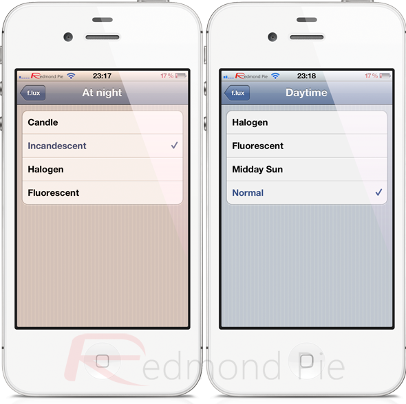 f lux for iphone iphone help bd f for iphone and automatically 4152