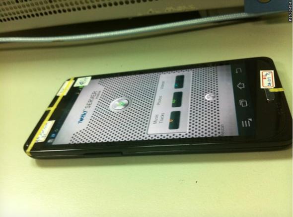 Galaxy S III prototype