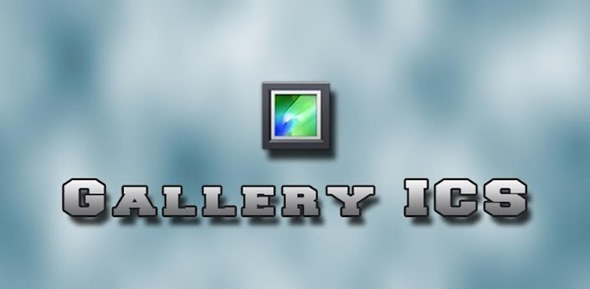 Gallery ICS splash