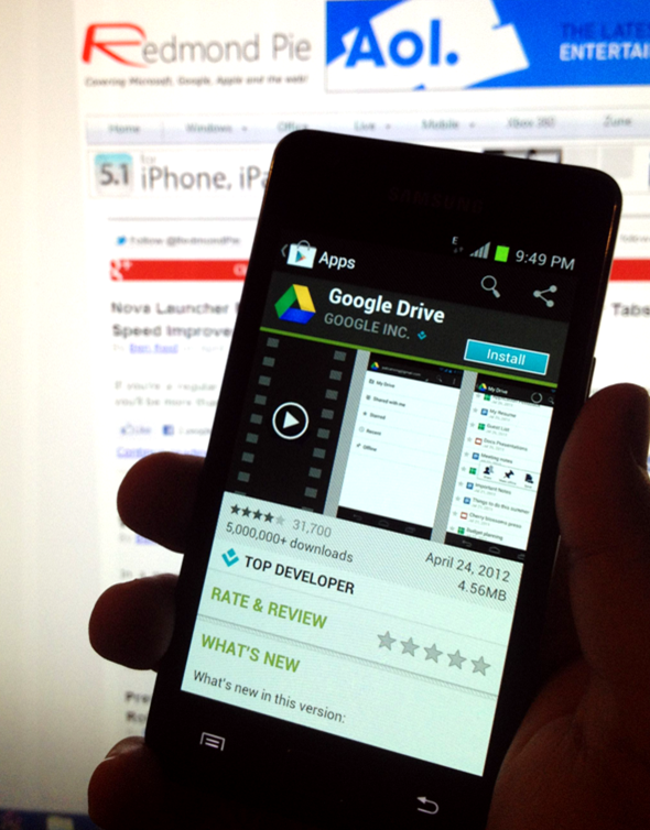 Google Drive Android RP