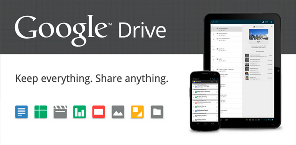 Google Drive Splash