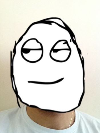 Memefier For Iphone Detects Faces In An Image And