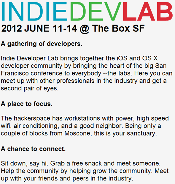 Indie Dev Lab