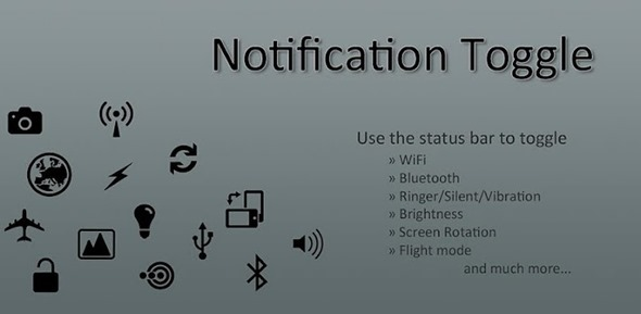 Notification Toggle splash