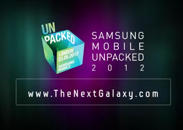 Samsung unpacked 2012