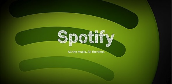 Spotify splash