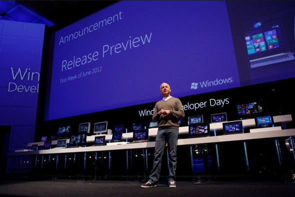 Windows 8 developer days release preview