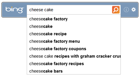 cheese cake bing