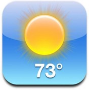 iOS Weather icon