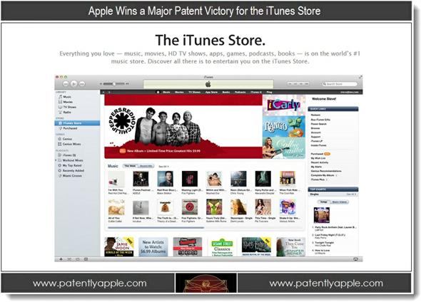 iTunes patent