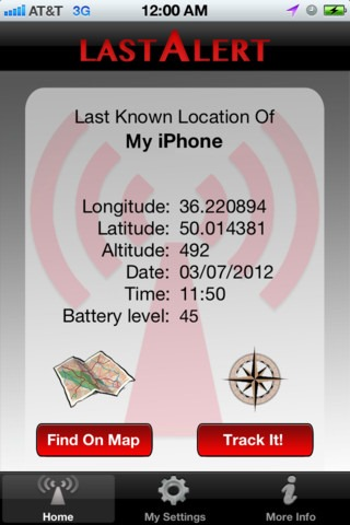 find my iphone dead battery last alert pro lets you find your iphone even if the 16918