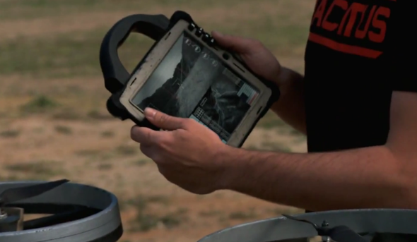 quadrotor iPad controller