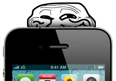 troll face iPhone