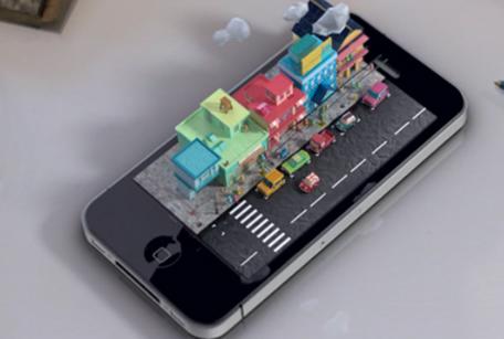 3D iPhone concept