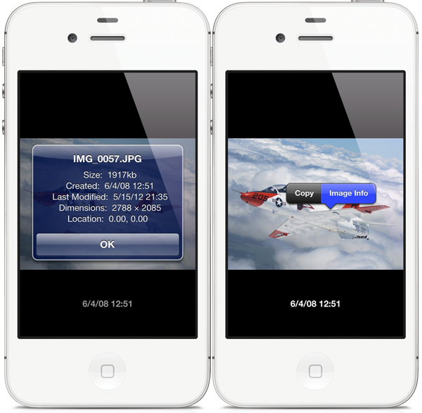 Dater For Iphone Adds On Screen Date And Time Stamps On