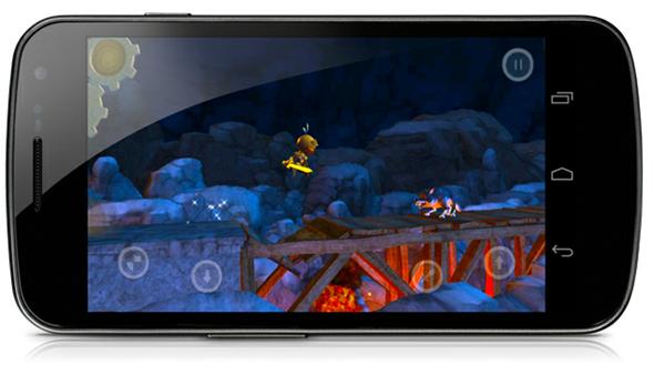 Galaxy Nexus gaming