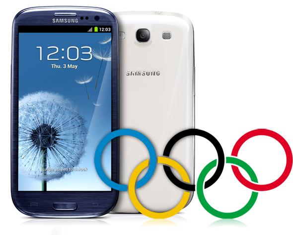 Galaxy S III Olympics