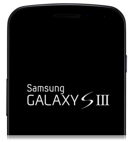 Galaxy S III mockup