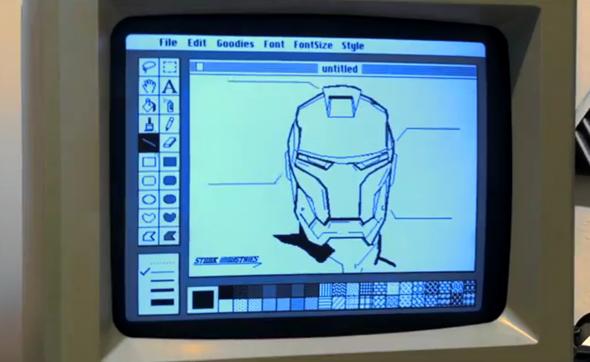 Iron Mac MacPaint