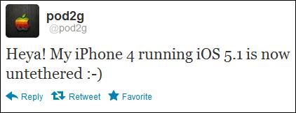 Pod2g 5.1 jailbreak iPhone 4