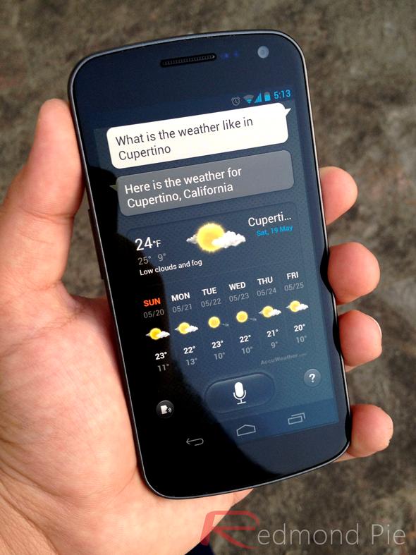 S Voice On Galaxy Nexus