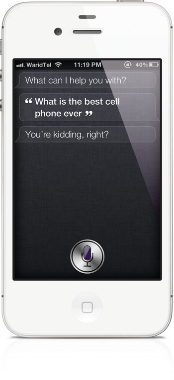 Siri best cellphone ever