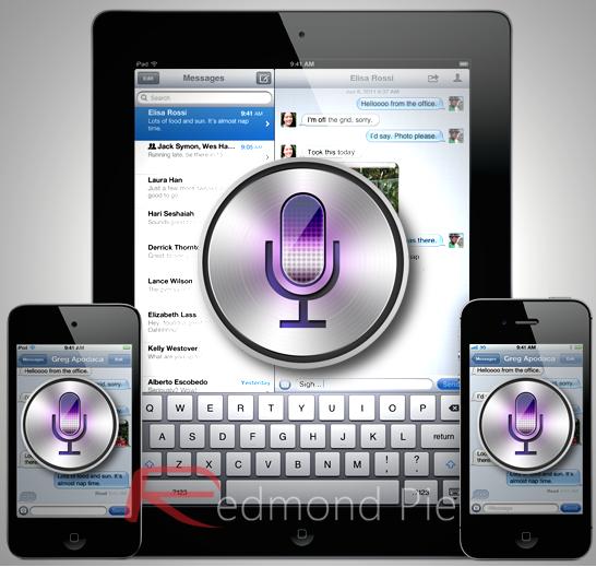 Siri iPad iPhone iPod touch (1)