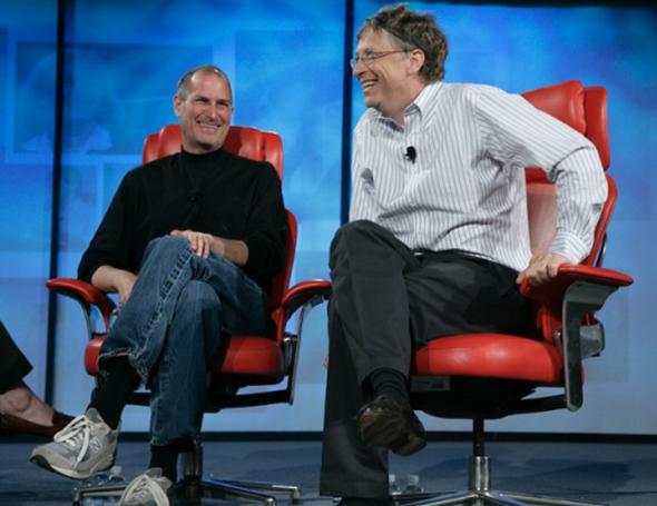 Steve Jobs Gates interview