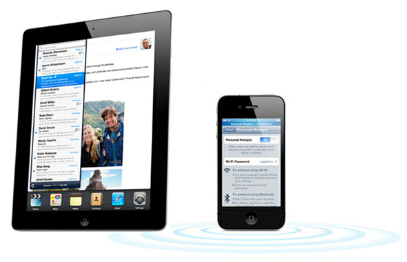 hotspot iOS