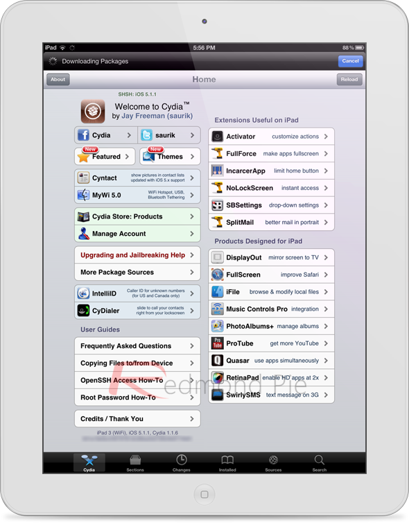 iPad 3 jailbreak iOS 5