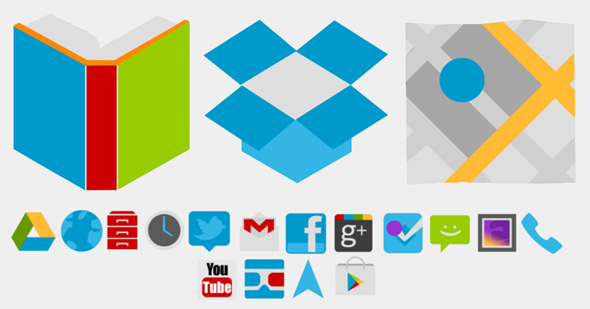 matte icons android