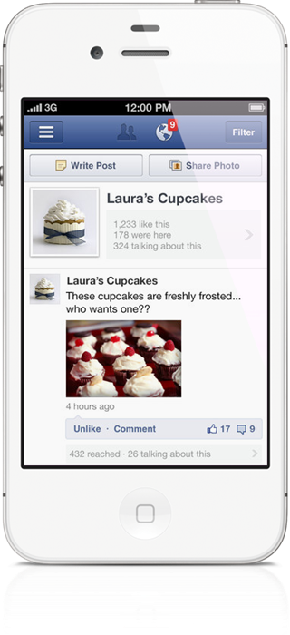 Facebook Pages Manager For iPhone Lets You Control Your Page
