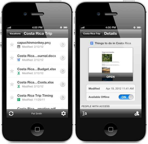 google drive iphone drive for iphone now available for 2440