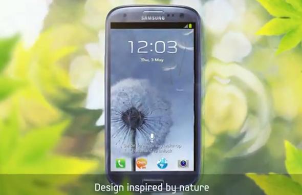 Galaxy S III video