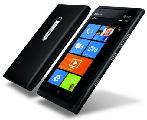 Lumia 900 black