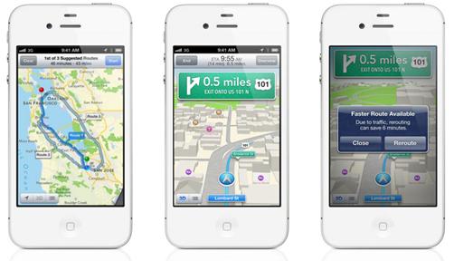 New 3D Maps app