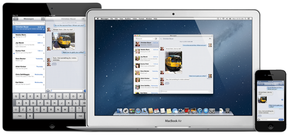 OS X Mountain Lion new