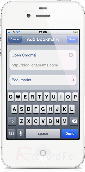 How To Open URLs In Google Chrome Instead Of Mobile Safari