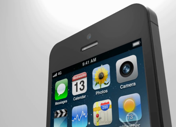 iPhone 5 render 2
