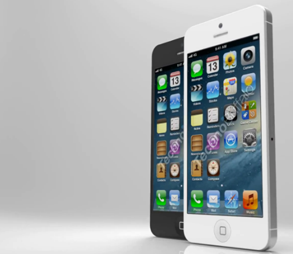 iPhone 5 render 3