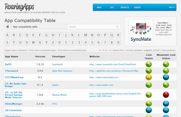 AppsCompatibleListML