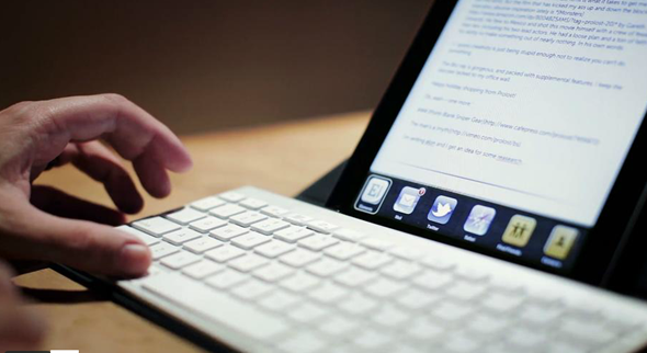 Bluetooth Keyboard Shortcuts iPad