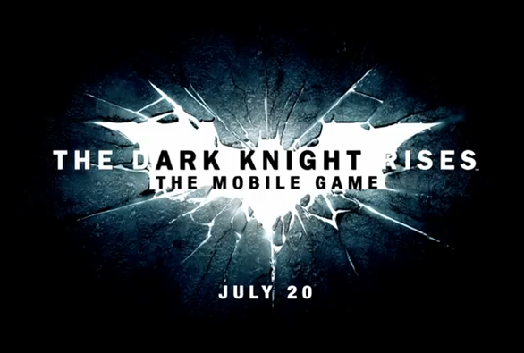 Dark Knight Rises Teaser Splash