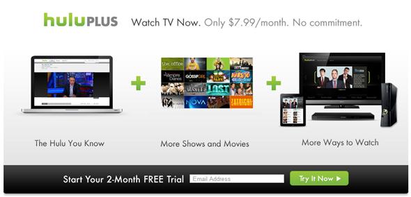 Hulu Plus 2 months free