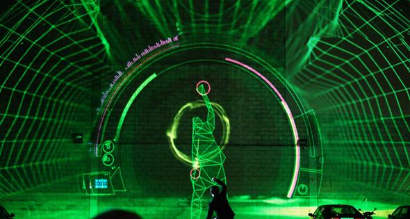 Kinect Dubstep