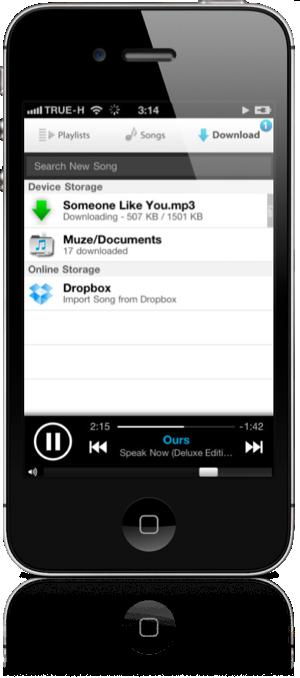 Muze iOS 3
