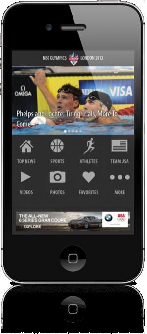 NBC Olympics iOS