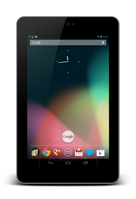 Nexus 7 home screen