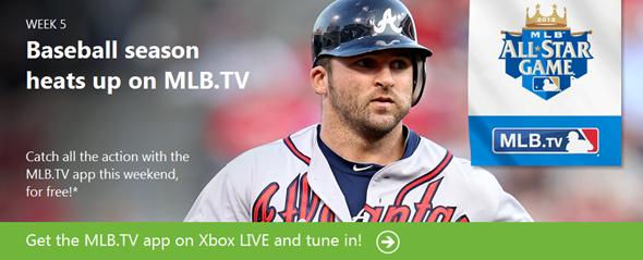 Xbox LIVE MLBTV